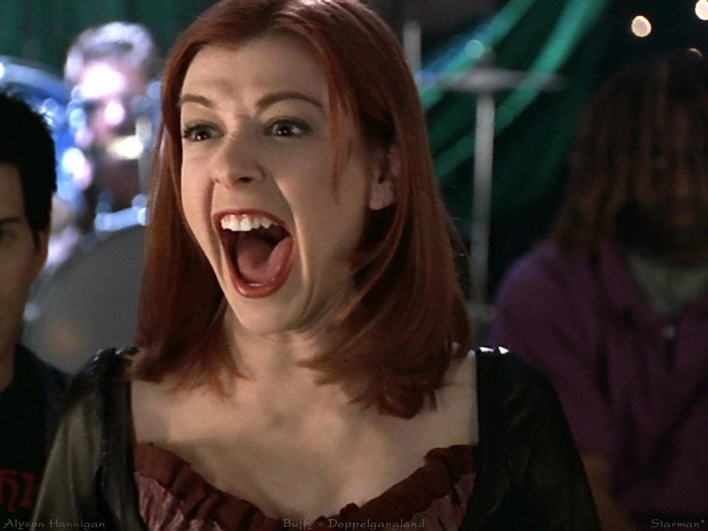 an image of Willow Rosenberg from Buffy the Vampire Slayer