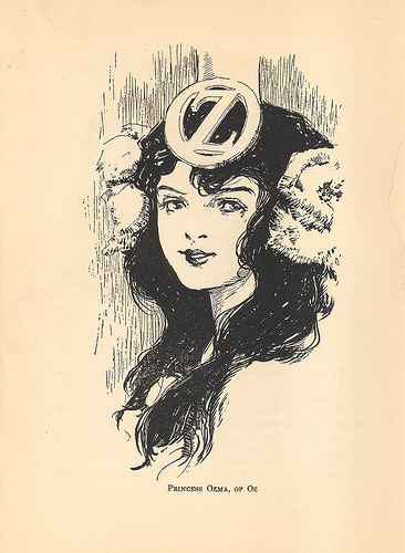 Ozma of Oz, illustrated by John R. Neill