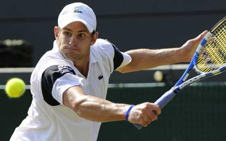 Andy Roddick, heroic in a losing cause