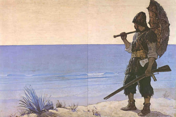 ... 1719 novel Robinson Crusoe still packs a punch. -- Topsy.com