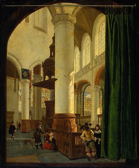 Gerard Houckgeest, Old Church Delft (1654)