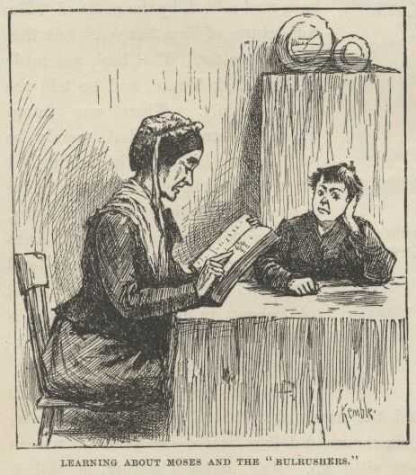 Many readers of Huckleberry Finn enjoy laughing at Miss Watson's approach to