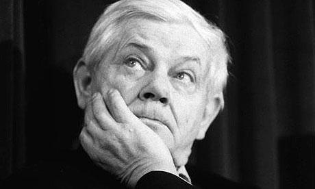 Polish poet Zbigniew Herbert