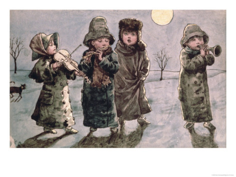 Kate Greenaway, &quot;Christmas&quot;