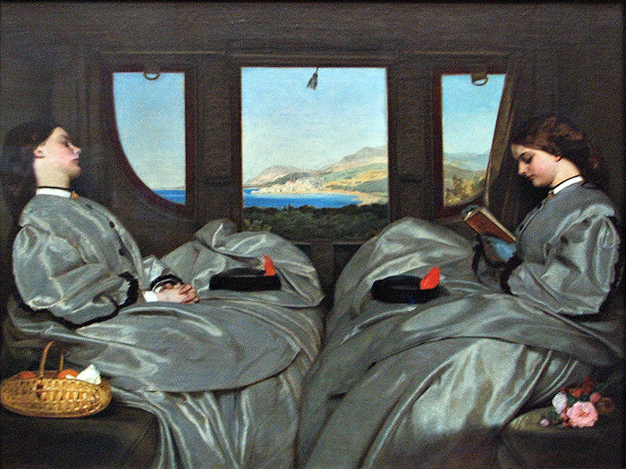 Augustus Leopold Egg, &quot;Traveling Companions&quot; (1862)