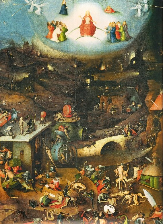 "Bosch, ""Painting of Hell"""