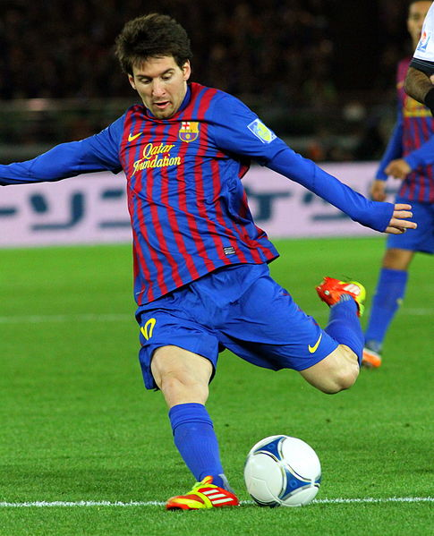 The incomparable Lionel Messi