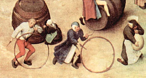 "Brueghel, detail from ""Children's Games"""