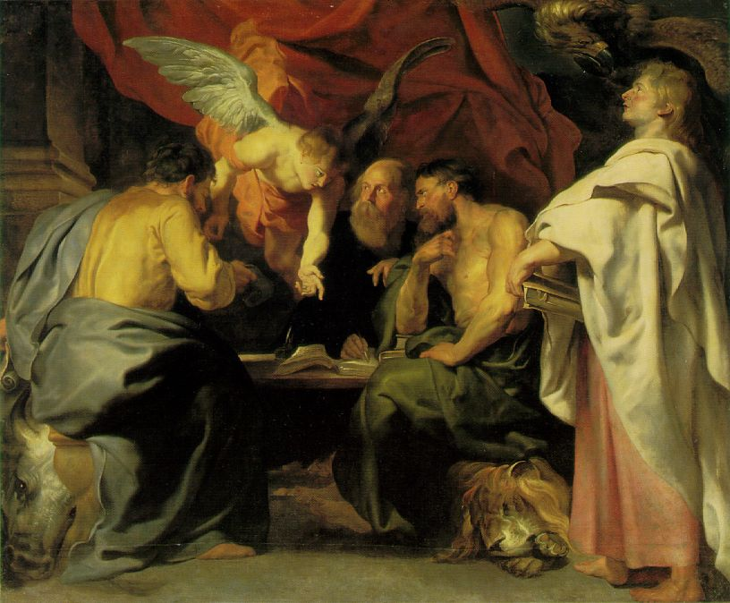"Peter Paul Rubens, ""The Four Evangelists"""