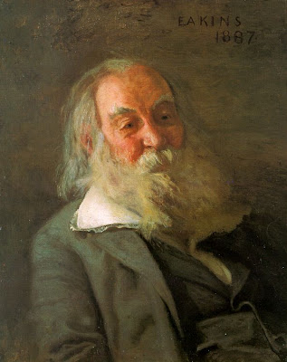 "Thomas Eakins, ""Portrait of Walt Whitman"""