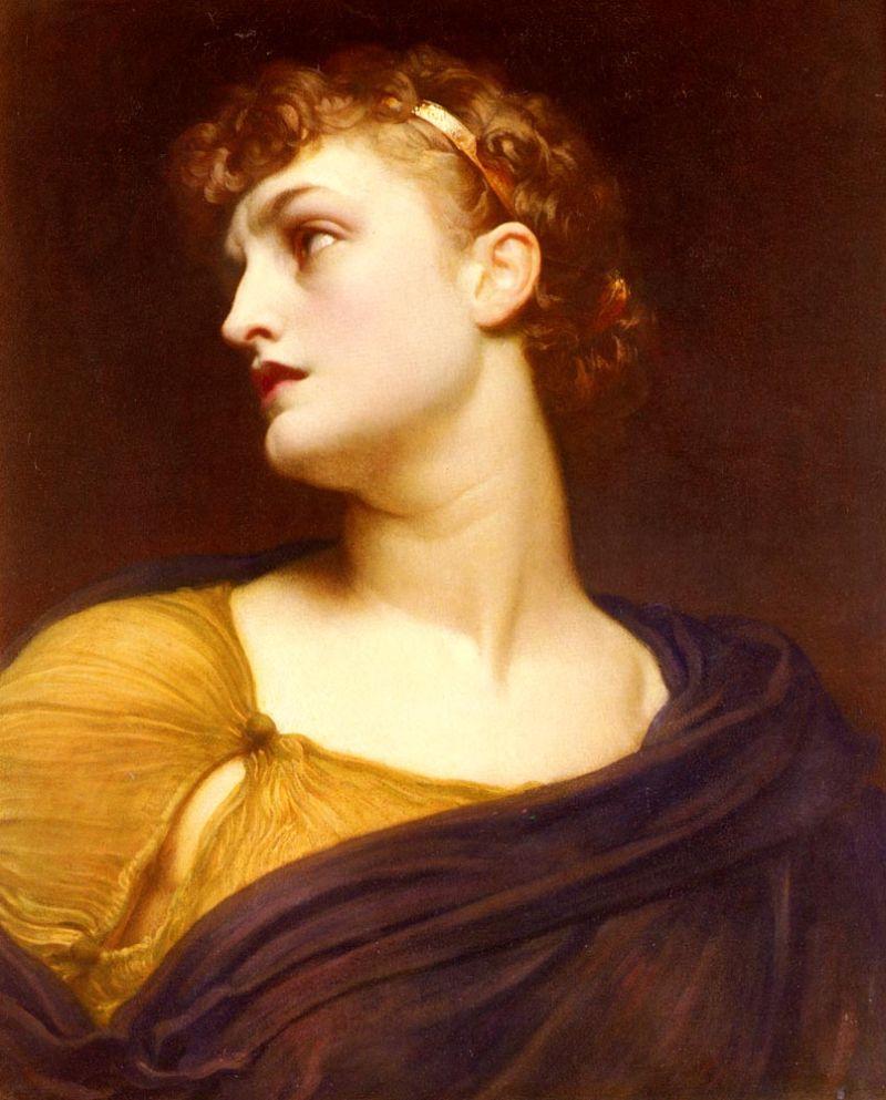 """Frederic Leighton, """"Antigone"""""""