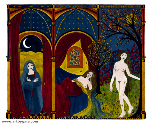 "Gaia Orion, ""The Virgin, the Whore, and the Sinner"""