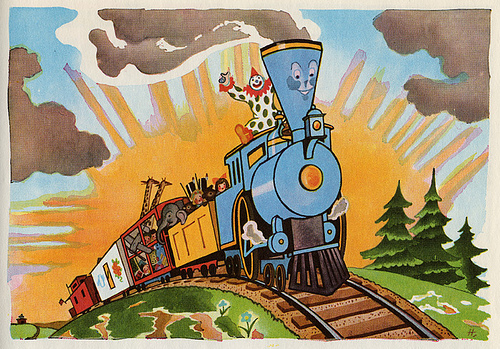 "Wally Piper's ""The Little Engine that Could"""