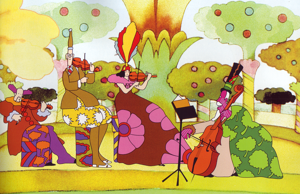 "Heinz Edelmann, from ""The Yellow Submarine"""