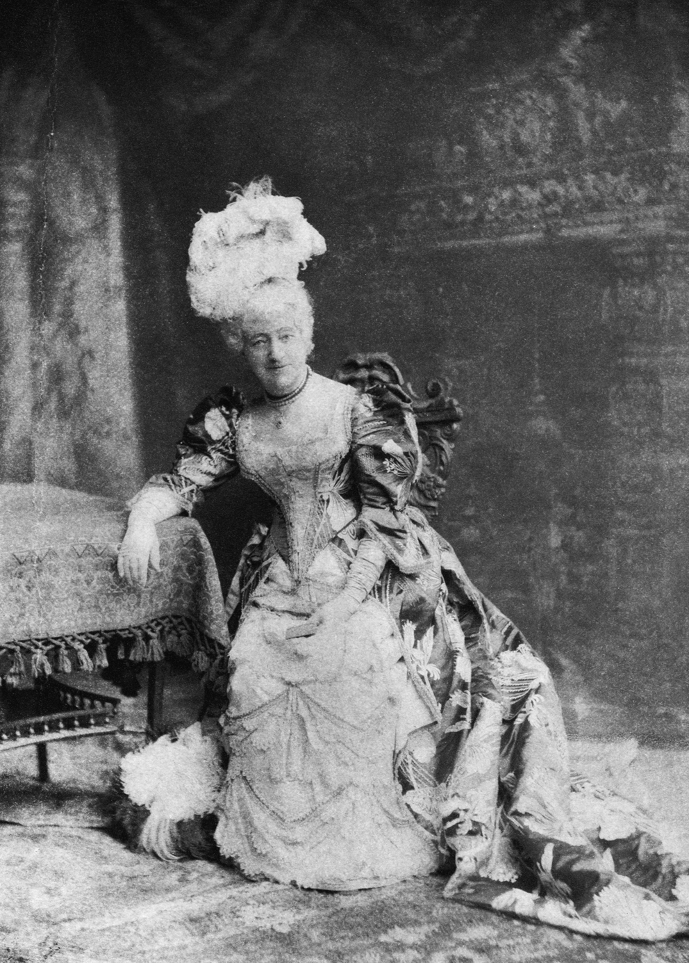 Louisa Drew, grandmother of the Barrymores, as Mrs. Malaprop
