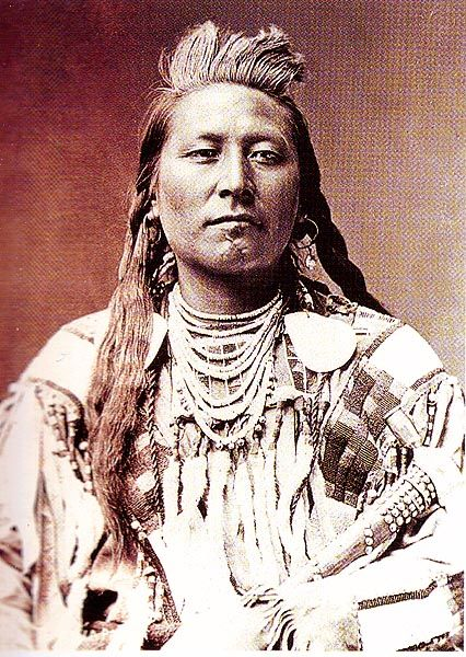Plenty Coups of the Crow Nation