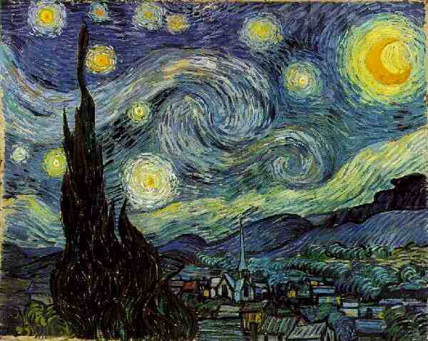 "Vincent Van Gogh, ""Starry Night"""