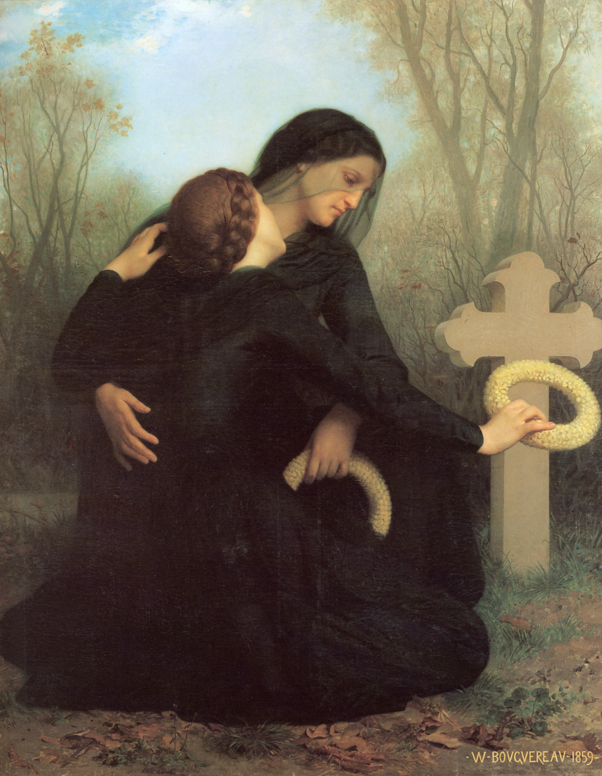 "William-Adolphe Bouguereau, ""Day of the Dead"""