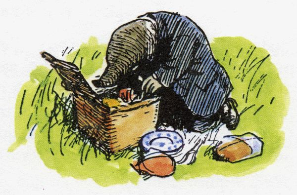 "Earnest Shepherd, Mole in ""Wind in the Willows"""