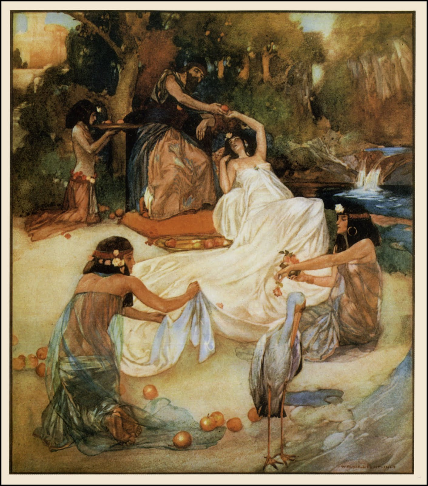 "William Russell Flint, ""Song of Solomon"""