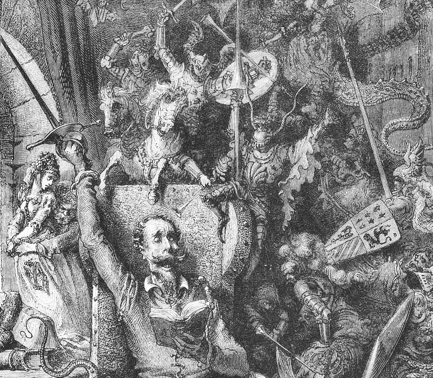 """Gustave Doré, """"Don Quixote"""""""