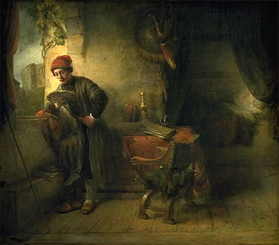 "Rembrandt, ""The Student"""