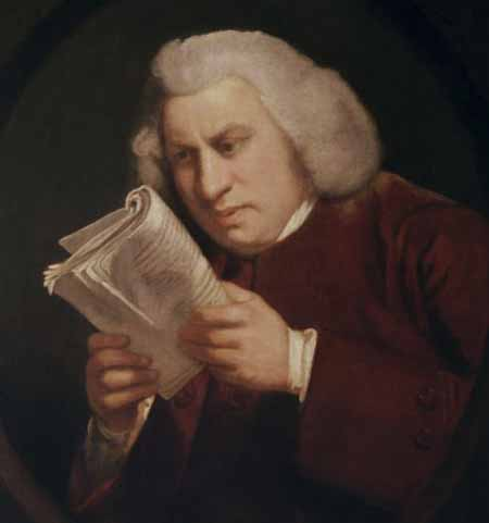 "Joshua Reynold, ""Samuel Johnson"""