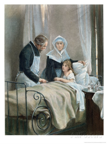 "Henri Alphonse Louis , Laurent-Desrousseaux, ""The Sick Child"""