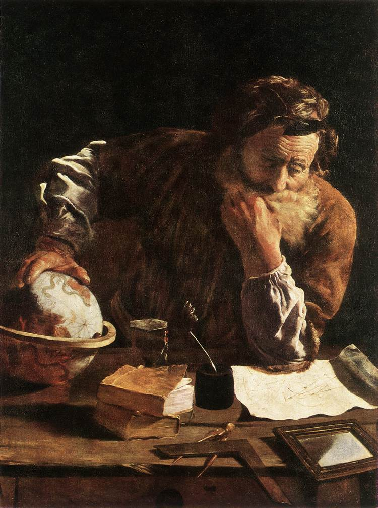 "Domenico Fetti, ""Portrait of a Scholar"""