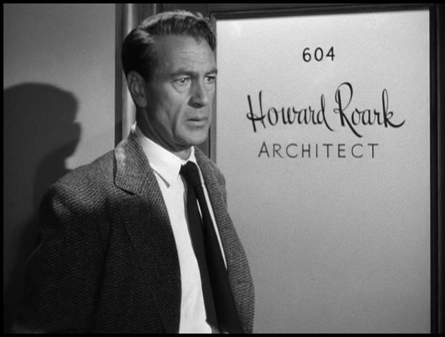 "Gary Cooper in ""The Fountainhead"""
