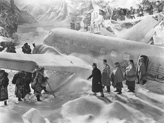 "Scene from Frank Capra's ""Lost Horizon"""