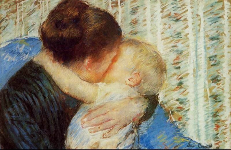 "Mary Cassatt, ""Mother and Child"""