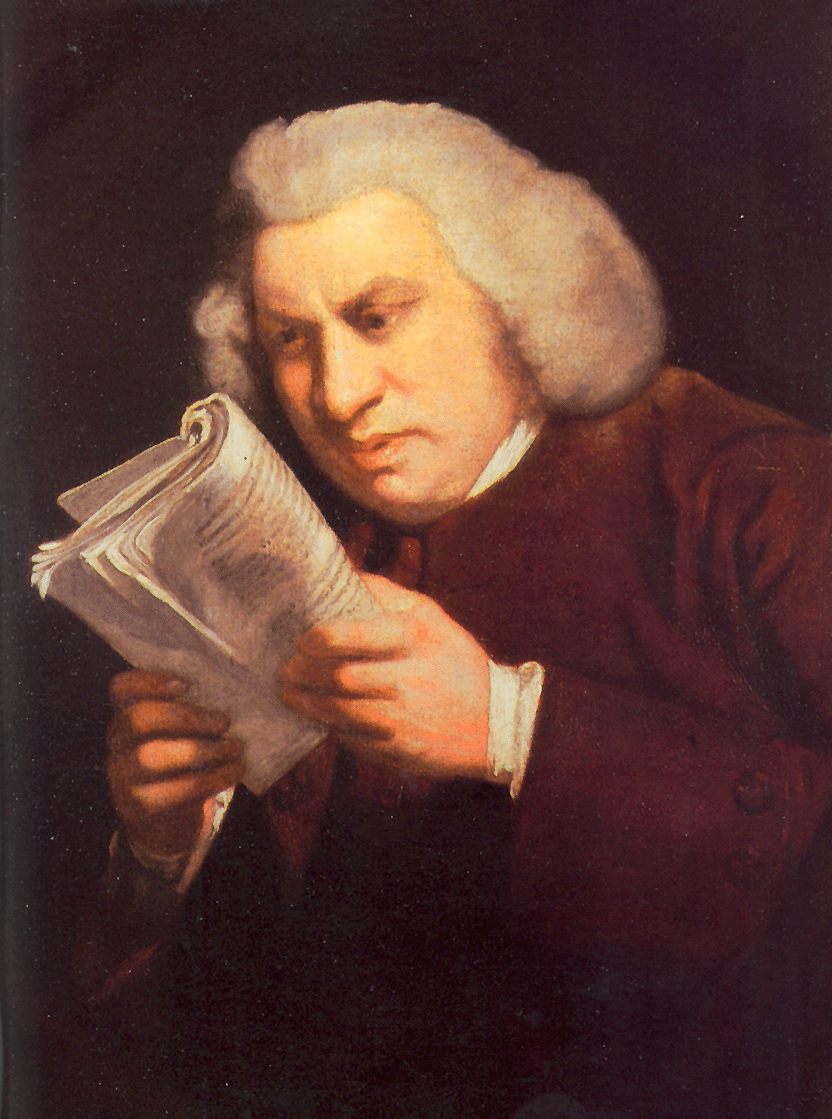 "Sir Joshua Reynolds, ""Samuel Johnson"""