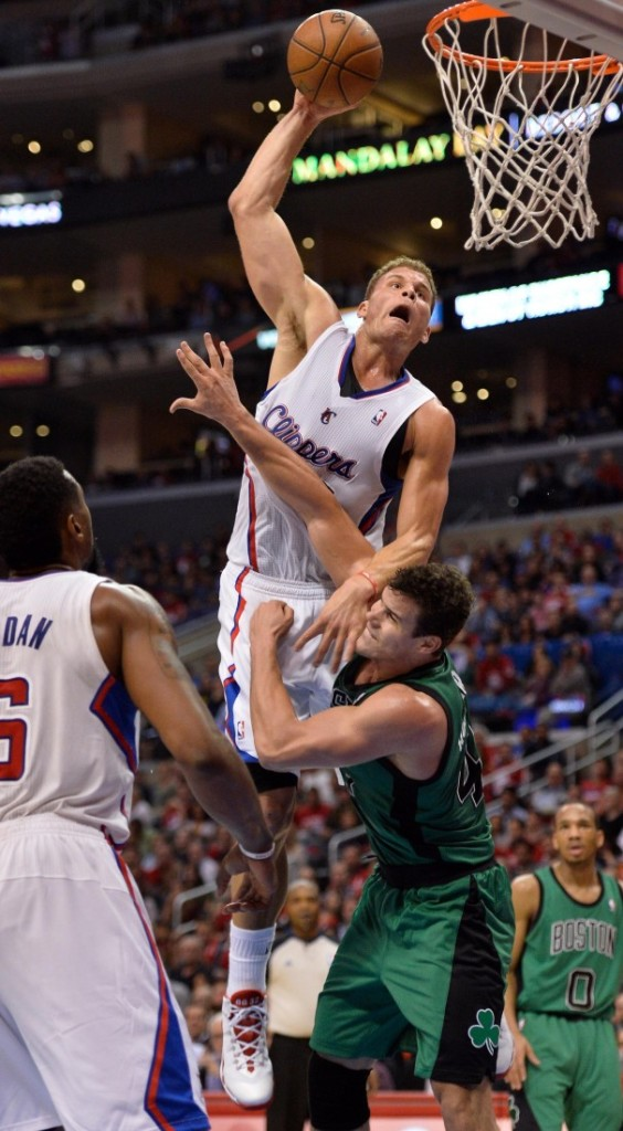 Blake Griffin of the Clippers