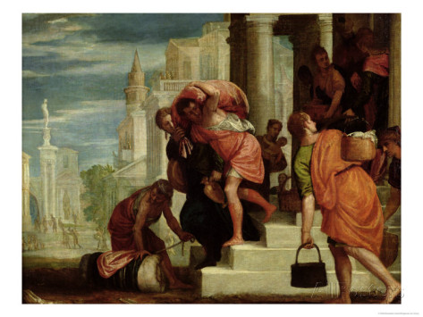 "Benedetto Caliari, ""Flight of the Israelites from Egypt"""