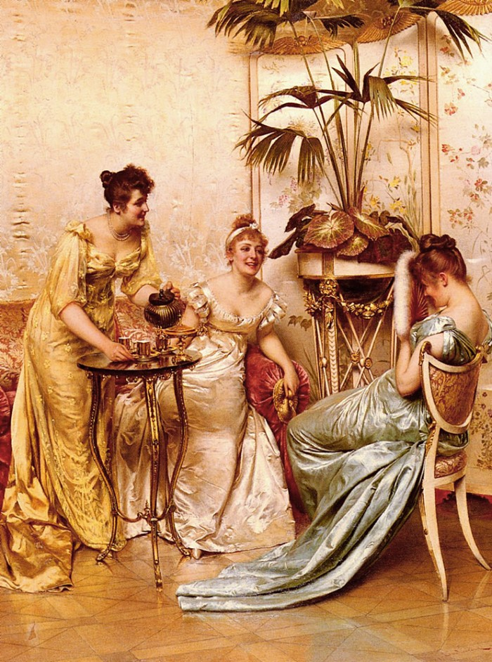 "Frederic Soulacroix, ""The Tea Party"""