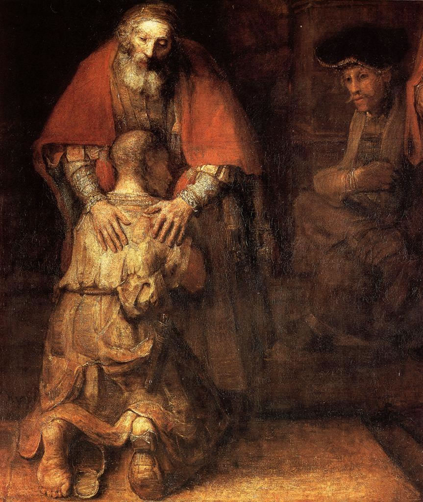 "Rembrandt, ""Return of the Prodigal Son"""