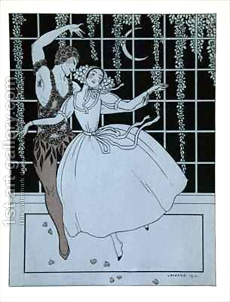 "Georges Barbier, ""Spectre de la Rose"""