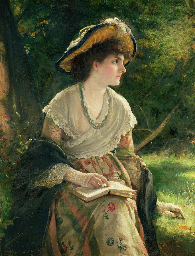 "Robert James Gordon, ""A Woman Reading"""