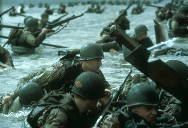 "D Day Invasion in ""Saving Private Ryan"""