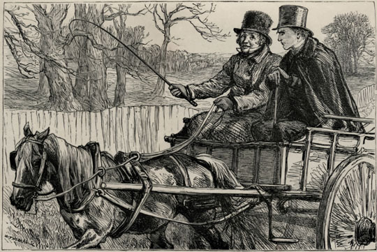 "Mangle and Crawley in ""Last Chronicle of Barset"""