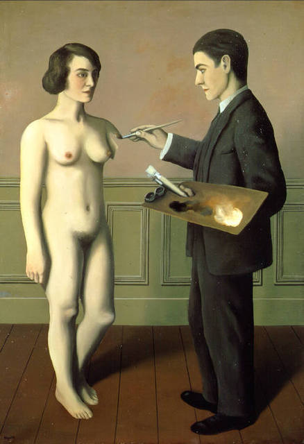 "René Magritte, ""Attempting the Impossible"""