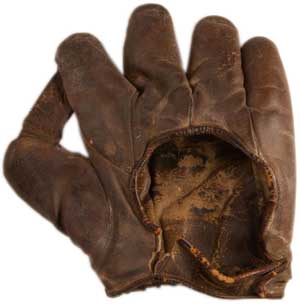 Babe Ruth's glove, 1926