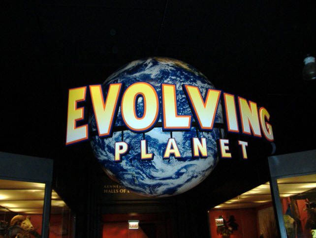 Field Museum's Evolving Planet exhibit