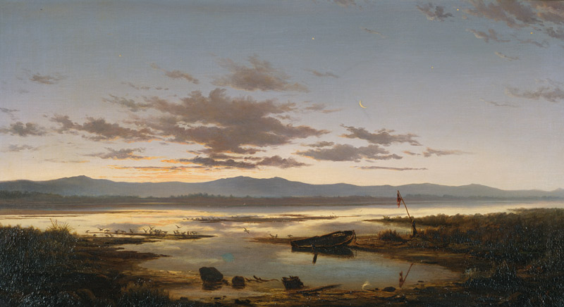 "John Gibb, ""Shades Of Evening, The Estuary"" (1880)"