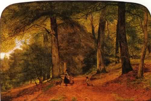 """Benjamin Leader, """"The Beech Wood"""" (1859)"""