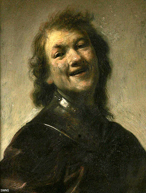 "Rembrandt, ""Rembrandt Laughing"""