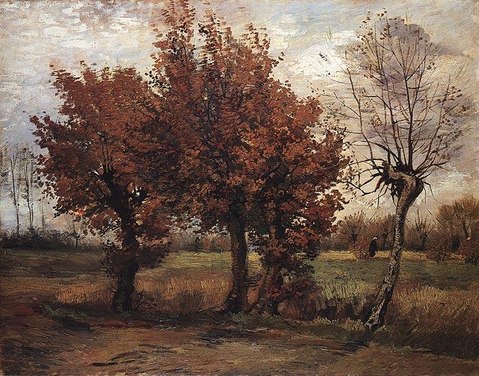 """Vincent van Gogh, """"Autumn Landscape"""""""