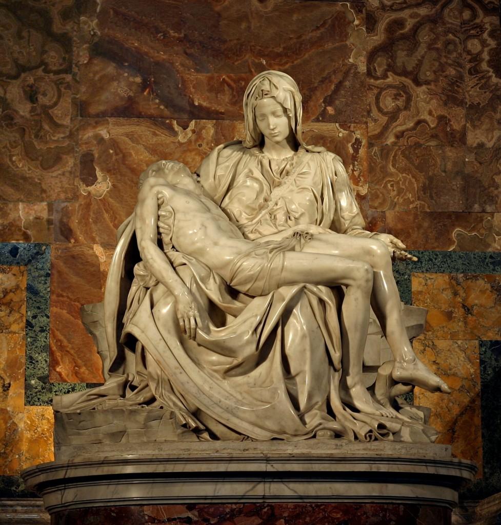 """Michelangelo, """"Pieta"""""""