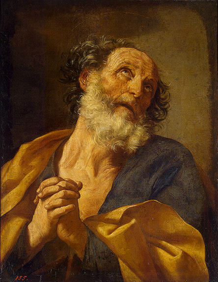 "Guido Reni, ""Repentance of St. Peter"""